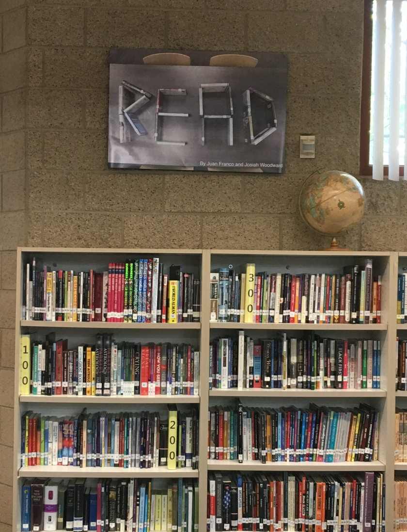 LHS Library Signage